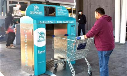 Al supermercato arriva anche il sanificatore per i carrelli della spesa