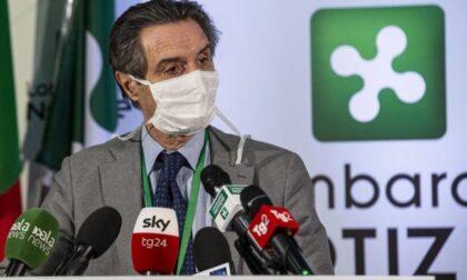 """Mascherine in Lombardia: Fontana firma nuova ordinanza, poi si """"mette a riposo"""""""