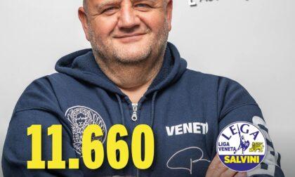 """Elezioni regionali 2020, Marcato è mister preferenza: """"Ve vojo ben!"""""""