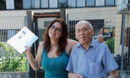 Luigi, pronto per la patente a 91 anni. Ma gli haters non perdonano