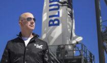 Bezos nello spazio: primovolo suborbitale di una compagnia privata