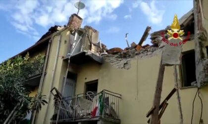 Crolla una palazzina a Torino, morto un bimbo di 4 anni