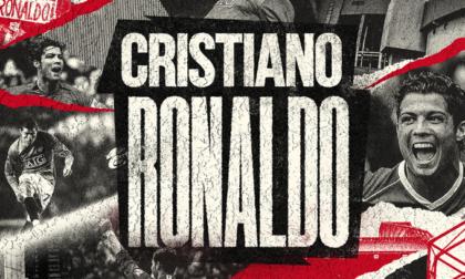 Cristiano Ronaldo è un giocatore del Manchester United