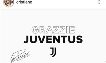 """L'addio di Ronaldo alla Juventus. Il """"grazzie"""" e le reazioni sui social"""