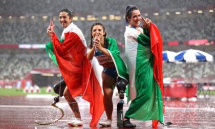 Paralimpiadi: storica tripletta azzurra nei 100 metri femminili