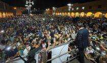 """Cantanti Vip insorgono contro Conte e la folla al suo comizio: """"Perché ai concerti no?"""""""