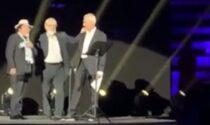 """Al Bano e Sgarbi costretti a lasciare il palco al concerto omaggio a Battiato: """"Fascisti"""""""