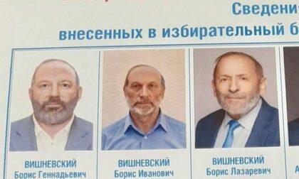 """""""Candidati clone"""" per le elezioni: in tre omonimi e con la stessa faccia"""
