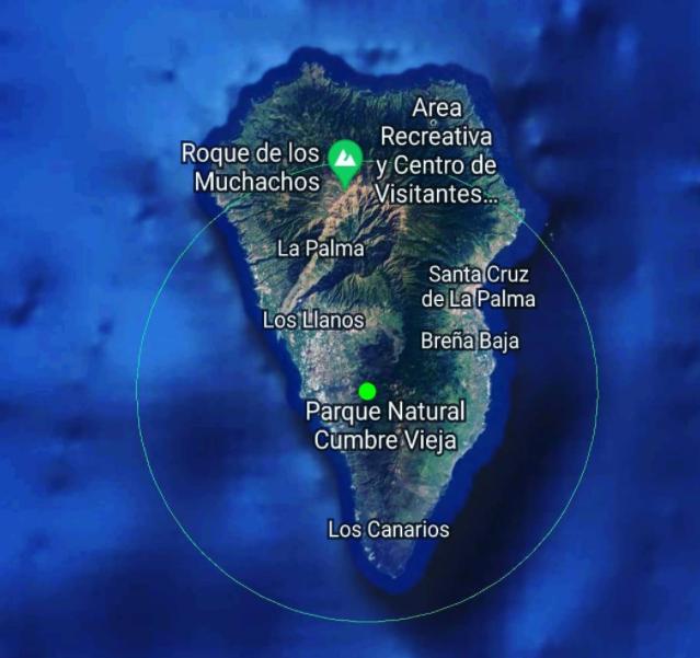 La mappa dell'Isola