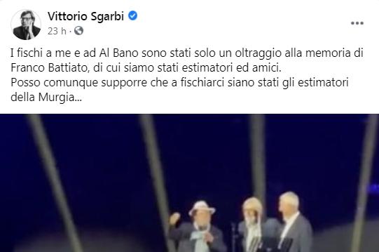 Post di Sgarbi