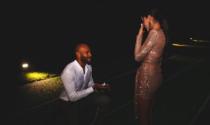Marcell Jacobs: scenografica proposta di matrimonio alla sua Nicole Daza