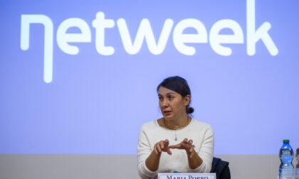 Salone del mobile: la presidente Maria Porro in visita alla sede Netweek