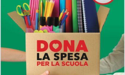 """""""Dona la spesa"""" aiuta le famiglie nel ritorno a scuola"""