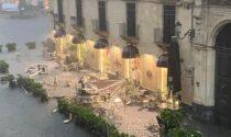 """""""Tornado"""" a Catania: i video del disastro"""