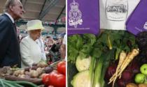 La Regina Elisabetta arrotonda vendendo la verdura reale di Filippo