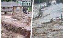 Maltempo in Liguria: esondazioni e un ponte crollato. I video impressionanti