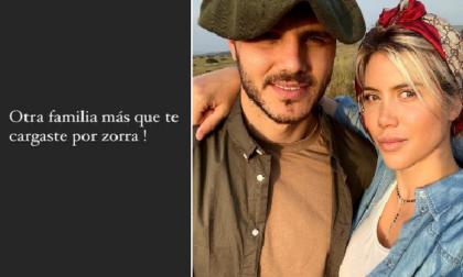 """Icardi e Wanda Nara: è rottura? L'annuncio sui social: """"Hai rovinato un'altra famiglia per..."""""""