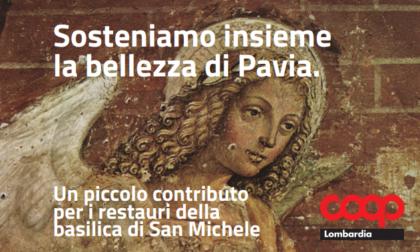 Coop Lombardia aiuta il restauro della basilica di San Michele Maggiore