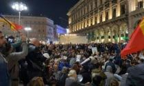 Corteo no Green Pass a Milano: scontri con la Polizia nelle vie del centro